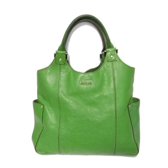 KATE SPADE bag Leather Kelly Green purse